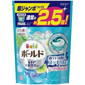 P&G ピーアンドジー Bold(ボールド)ジェルボール3D 爽やかプレミアムクリーンの香り つめかえ用 超ジャンボサイズ (44個) 〔衣類用洗剤〕
