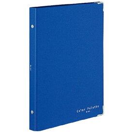 コクヨ KOKUYO [ノート]バインダーノート(カラーパレット)ミドル B5 縦 26穴 311-4 ブルー