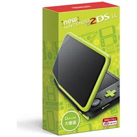 任天堂 Nintendo Newニンテンドー2DS LL ブラック×ライム [ゲーム機本体][NEW2DSLLブラックXライム]