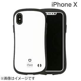 HAMEE ハミィ iPhone X用 iFace First Classケース ホワイト IP8IFACEFCWH