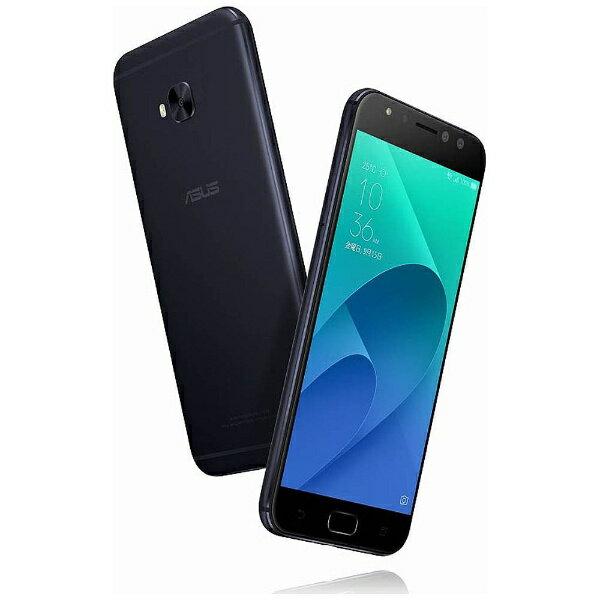 【送料無料】 ASUS エイスース ZenFone 4 Selfie Pro(ZD552KL)ネイビーブラック「ZD552KL-BK64S4」 Snapdragon 625 5.5型・メモリ/ストレージ:4GB/64GB nanoSIMx1 nanoSIM or micro SDx1 DSDS対応 ドコモ/au/ソフトバック/YmobileSIM対応 SIMフリースマート