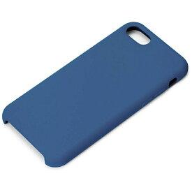 PGA iPhone 8 シリコンケース ネイビー PG-17MSC14NV