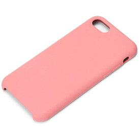 PGA iPhone 8 シリコンケース ピンク PG-17MSC13PK