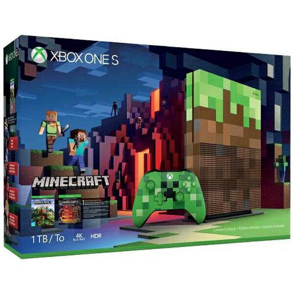 【送料無料】 マイクロソフト Xbox One S 1TB Minecraft リミテッド エディション[ゲーム機本体]