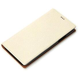 PGA iPhone X用 手帳型 フリップカバー ホワイト PG-17XFP48WH