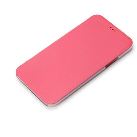 PGA iPhone X用 手帳型 フリップハードケース ホットピンク PG-17XFP43PK