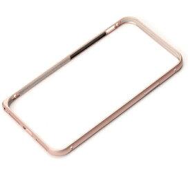 PGA iPhone X用 アルミニウムバンパー ローズゴールド PG-17XBP04PK