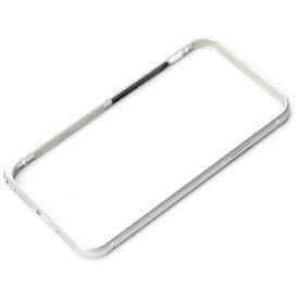 PGA iPhone X用 アルミニウムバンパー シルバー PG-17XBP01SV