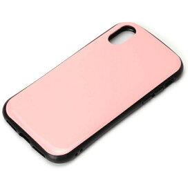 PGA iPhone X用 ハイブリッドタフケース ピンク PG-17XPT07PK