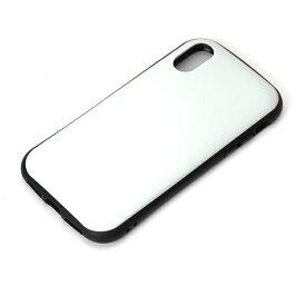 PGA iPhone X用 ハイブリッドタフケース ホワイト PG-17XPT06WH