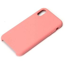 PGA iPhone X用 シリコンケース ピンク PG-17XSC03PK