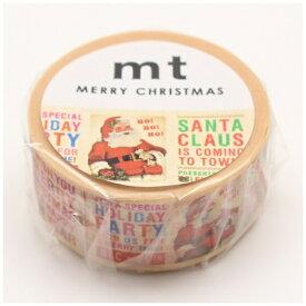 カモ井加工紙 KAMOI mt マスキングテープ クリスマス2017 クリスマスニュース MTCMAS80