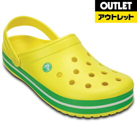 クロックス Crocs 【アウトレット品】Crocband M7W9(サイズ:25cm)Lemon/Grass Green【生産完了品】Crocband Lemon/Grass Green M7/W9