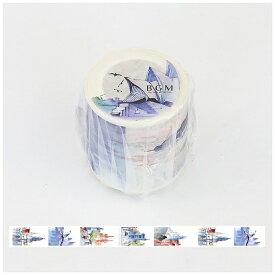 ビージーエム BGM マスキングテープ スペシャル全世界(オーストラリア) 幅40mm×長さ7m BM-SPW002[BMSPW002]