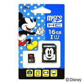 サイバーガジェット CYBER Gadget ディズニーmicroSDカード アダプターセット 16GB ミッキー EU-MSD16-MM[Switch]