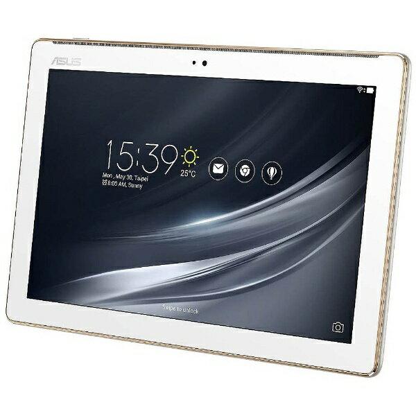 【送料無料】 ASUS Androidタブレット[10.1型ワイド・ストレージ 16GB] ASUS ZenPad 10 Z301M-WH16 (2017年秋モデル・クラシックホワイト)[Z301MWH16]