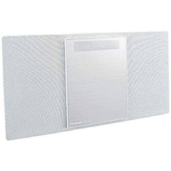 【送料無料】 パナソニック 【ワイドFM対応】Bluetooth対応 ミニコンポ(ホワイト) SC-HC400-W[SCHC400W] panasonic