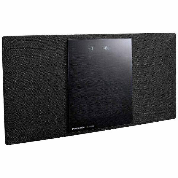 パナソニック Panasonic 【ワイドFM対応】Bluetooth対応 ミニコンポ(ブラック) SC-HC400-K[SCHC400K] panasonic
