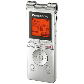 パナソニック Panasonic RR-XS470 ICレコーダー シルバー [8GB][録音機 ボイスレコーダー 小型 高音質 長時間]