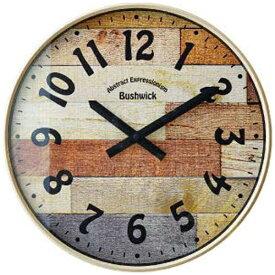 インターフォルム INTERFORM 電波掛け時計 BUSHWICK(ブッシュウィック) アイボリー CL-9361IV [電波自動受信機能有]