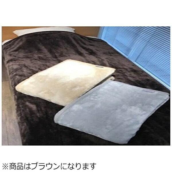 メルクロス ニューマイヤー毛布 グレイスカラー(ダブルサイズ/180×210cm/ブラウン)