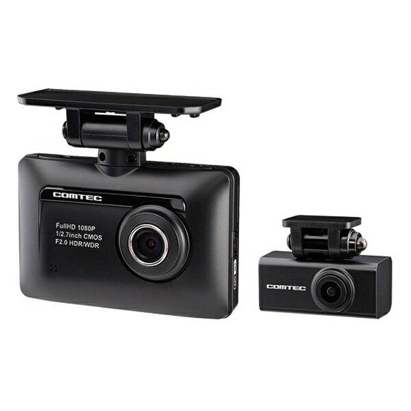 コムテック ZDR-015 ドライブレコーダー [一体型 /Full HD(200万画素) /前後カメラ対応][ zdr015 ]