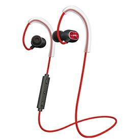 ラディウス radius ブルートゥースイヤホン カナル型 レッド HP-S100BT [リモコン・マイク対応 /ワイヤレス(左右コード) /Bluetooth][HPS100BTR]