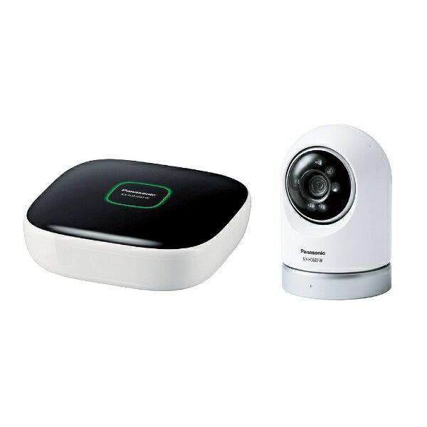 【送料無料】 パナソニック ホームネットワークシステム「スマ@ホーム システム」 屋内スイングカメラキット KX-HC600K-W