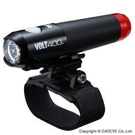 キャットアイ CATEYE ヘルメットライト VOLT400 DUPLEX(ブラック) HL-EL462RC-H[HLEL462RCH]