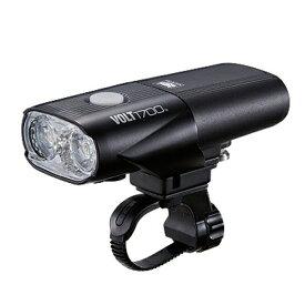 キャットアイ CATEYE ヘッドライト VOLT1700(ブラック) HL-EL1020RC