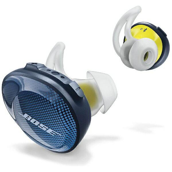 【送料無料】 BOSE ブルートゥースイヤホン 完全ワイヤレス カナル型 SoundSport Free wireless headphones SSPORTFREEBLU ブルー [左右分離タイプ /Bluetooth]