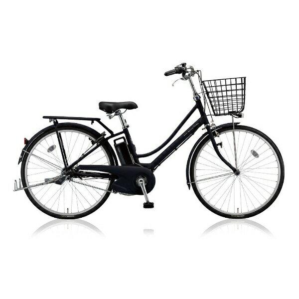 【送料無料】 ブリヂストン 26型 電動アシスト自転車 アシスタプリマ(T.Xクロツヤケシ/内装3段変速) A6PD18【2018年モデル】【組立商品につき返品不可】 【代金引換配送不可】