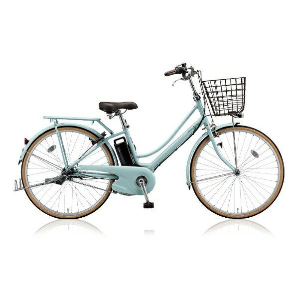 【送料無料】 ブリヂストン 26型 電動アシスト自転車 アシスタプリマ(E.Xグレイッシュミント/内装3段変速) A6PD18【2018年モデル】【組立商品につき返品不可】 【代金引換配送不可】