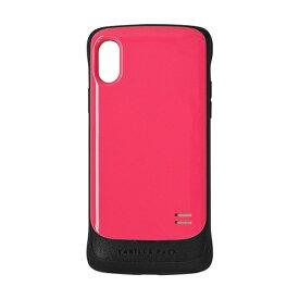 ラスタバナナ RastaBanana iPhone X用 VANILLA PACK 衝撃吸収ケース ピンク 3391IP8A
