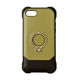 ラスタバナナ RastaBanana iPhone 8 リングスタンド付きケース ベージュ 3474IP7SA