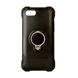 ラスタバナナ RastaBanana iPhone 8 リングスタンド付きケース ブラック 3472IP7SA