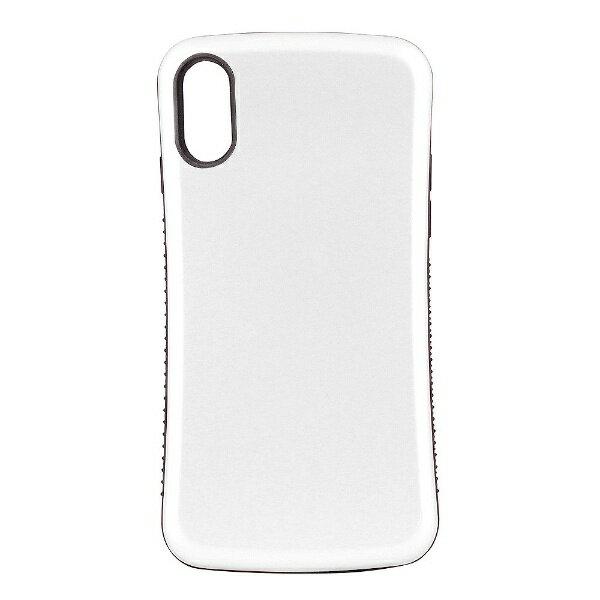 OWLTECH iPhone X用 背面ケース 耐衝撃 ホワイト CURREN OWL-CVIP831-WH