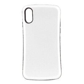 OWLTECH オウルテック iPhone X用 背面ケース 耐衝撃 ホワイト CURREN OWL-CVIP831-WH