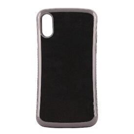 OWLTECH オウルテック iPhone X用 背面ケース 耐衝撃 ブラック CURREN OWL-CVIP831-BK