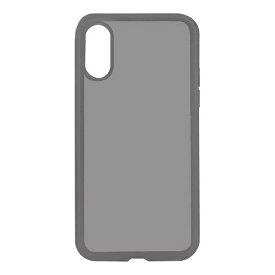 OWLTECH オウルテック iPhone X用 背面ケース ハイブリット PCxTPU クリアブラック STD OWL-CVIP816-CBK