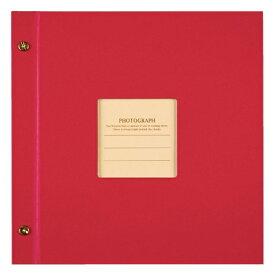 セキセイ SEKISEI ハーパーハウス ましかくアルバム〈フレーム〉(レッド)XP-8910[XP8910]