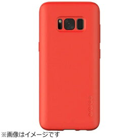 ROA ロア Galaxy S8用 Airfit レッド araree AR9688S8