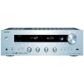 オンキヨー ONKYO TX-8250 プリメインアンプ シルバー [ハイレゾ対応 /ワイドFM対応][TX8250S]