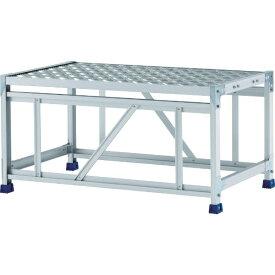 アルインコ ALINCO アルインコ 作業台(天板縞板タイプ)1段 CSBC151WS