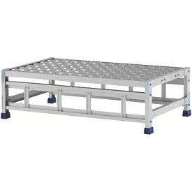 アルインコ ALINCO アルインコ 作業台(天板縞板タイプ)1段 CSBC131WS