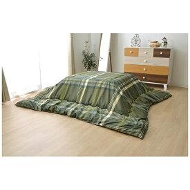 イケヒコ IKEHIKO 5981109 こたつ布団 グラン グリーン [対応天板サイズ:約75×75cm /正方形]