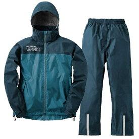 LIPNER リプナー サイクルレインスーツ LIPNER バックパックレインスーツ アディ(LLサイズ/ブルー) 28734151