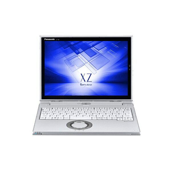 【送料無料】 パナソニック 【LTE対応 SIMフリー】12型タッチ対応ノートPC[Office付き・Win10 Pro・Core i5・SSD 256GB・メモリ 8GB・Nano SIM対応] レッツノート XZ シルバー CF-XZ6PFKQR (2017年秋冬モデル)[CFXZ6PFKQR]