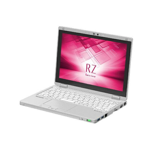 【送料無料】 パナソニック 10.1型タッチ対応ノートPC[Office付き・Win10 Pro・Core m3・SSD 128GB・メモリ 8GB] レッツノート RZ シルバー CF-RZ6NDFQR (2017年秋冬モデル)[CFRZ6NDFQR]