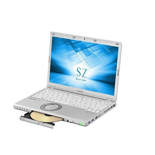 【送料無料】 パナソニック 12.1型ノートPC[Office付き・Win10 Pro・Core i7・SSD 128GB+HDD 1TB・メモリ 8GB] レッツノート SZ シルバー CF-SZ6QDAQR (2017年秋冬モデル)[CFSZ6QDAQR]